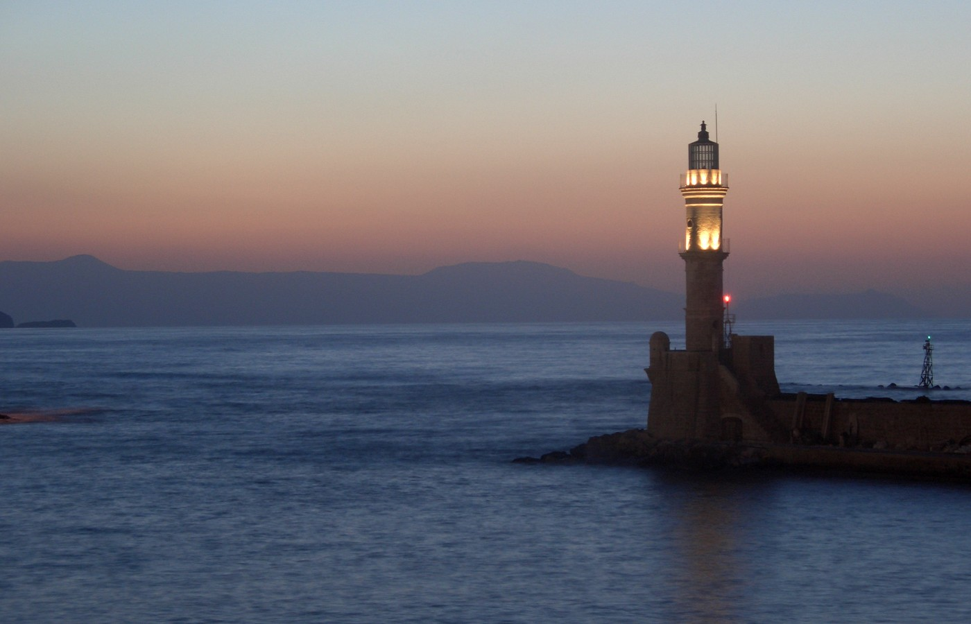 chania city near almirida - Villas-Almyrida - The best Almyrida beach view